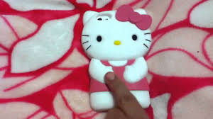 3d Kitty Iphone 5 Silicone Case