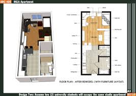 Studio Floor L Bedroom Apartmenthouse Plans Iranews Studio Apartment Layout Ideas
