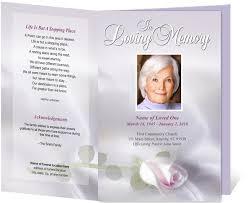 Funeral Program Ideas 10 Best Images Of Elegant Memorial Service Program Template