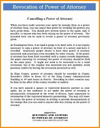 How To Write A Power Of Attorney by 3 Durable Power Of Attorney Form Washington State Action Plan