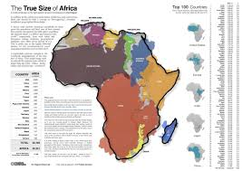 Africa Map Countries by This Map Will Change How You See Africa World Economic Forum