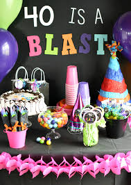 birthday ideas 40th birthday party throw a 40 is a blast party
