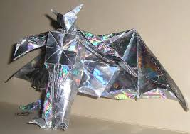 holographic gift wrap the origami forum view topic what you folded lately