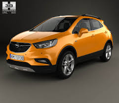 opel kapitan interior opel mokka x with hq interior 2017 3d model hum3d