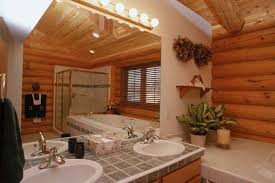 log home bathroom interiors log cabin bathroom cabin bathroom food