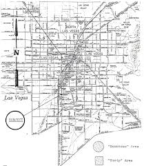 Las Vegas Strip Casino Map by Paradise Misplaced Xanadu Las Vegas 1975