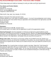 key account template brilliant ideas of key account manager cover letter exles about