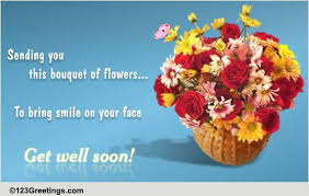 Get Well Soon Flowers Get Well Flowers Free Get Well Soon Ecards Greeting Cards 123