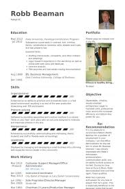 Ballet Resume Sample by Customer Support Resume Samples Visualcv Resume Samples Database