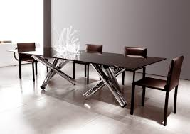 Modern Round Dining Table Wood Luxury Modern Glass Dining Table Tedxumkc Decoration Intended