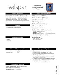 valspar brushed pearl finish valspar pdf catalogues