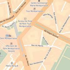 bureau de poste gare montparnasse nous situer hôtel arotel à 75