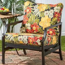 cushion walmart outdoor cushions patio bench with cushions