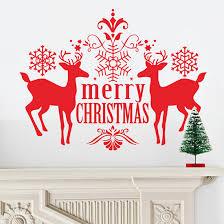 online get cheap deer sticker red aliexpress com alibaba group