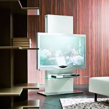 Tv Stand With Back Panel Totem Swivel Column Tv Stand Arredaclick