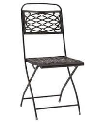 outdoor metal chair stackable suited for bars and icecream