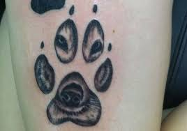 charming dog paws tattoo design in 2017 real photo pictures