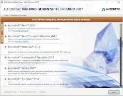 autodesk building design suite solved building design suite 2017 will not install autodesk