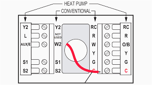 room thermostat wiring diagrams for hvac systems pleasing diagram