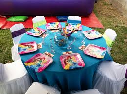 Party Tables And Chairs For Rent Little Mermaid Party Ariel Party Under The Sea Decorations