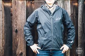 packable waterproof cycling jacket review alpinestars all mountain rain jacket mtbr com