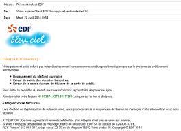si e social d edf phishing alerte aux courriels frauduleux edf réunion