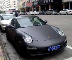 porsche supercar black porsche 911 is matte black in china carnewschina com china