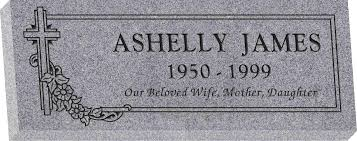 granite headstones 36 x 14 x 4 flat granite headstone honor