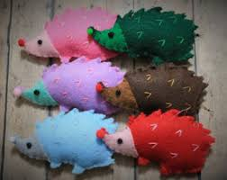 hedgehog softie etsy