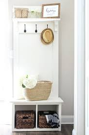 bench entry hall bench shoe storage diy ideas to help customize