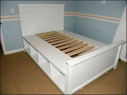 bedroom fascinating how to make a platform bed with storage