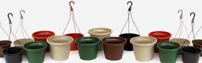 hanging planter basket shuttle brand hanging baskets planters injection molded pots