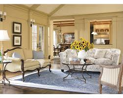 Thomasville Riviera Sofa by The Dark Wood Framed Nassau Chair Can Whisk You Away To Faraway