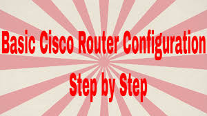 basic cisco router configuration step by step ccna 200 125