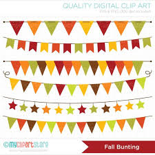 fall bunting thanksgiving banner and clip clip library