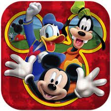 mickey mouse clubhouse party supplies disney mickey mouse playtime birthday party 9 square lunch plates