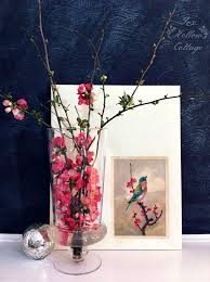 spring bird art diy custom home decor fox hollow cottage