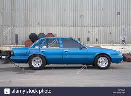 heavily modified australian holden commodore vl with equally
