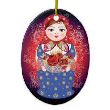 matryoshka ornaments keepsake ornaments zazzle