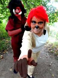 how to make a timon costume search warts