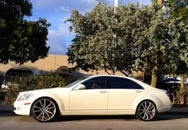 rick ross bentley wraith white mercedes s550 with custom rims exotic cars on the streets