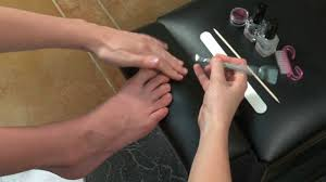 diy glitter and rockstar toes nail art instructions youtube