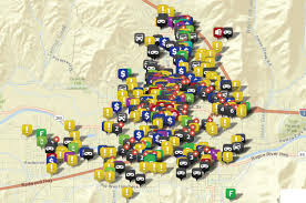 Map Of Grants Pass Oregon by Crime Mapping In Grants Pass Securing Our Safety