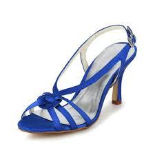 wedding shoes kitten heel uk jia jia bridal 1417 satin low heel open toe prom party