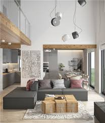 beautiful modern minimalist loft with a view