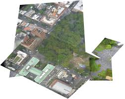 Washington Square Map by Georeferencing Aerial Imagery U2014 Qgis Tutorials And Tips