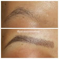 Eyebrow Tattoo Before And After Before And After Microblading Eyebrow Tattoos Popsugar Beauty Uk