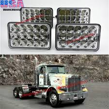 4x led headlights sealed beam headlamps for freightliner fld 120