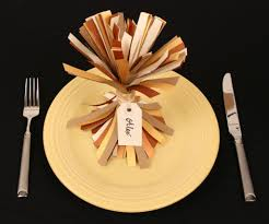 thanksgiving place setting idea jam