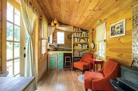 tiny home interior ulster county s rowan kunz builds a tiny home that s entirely self